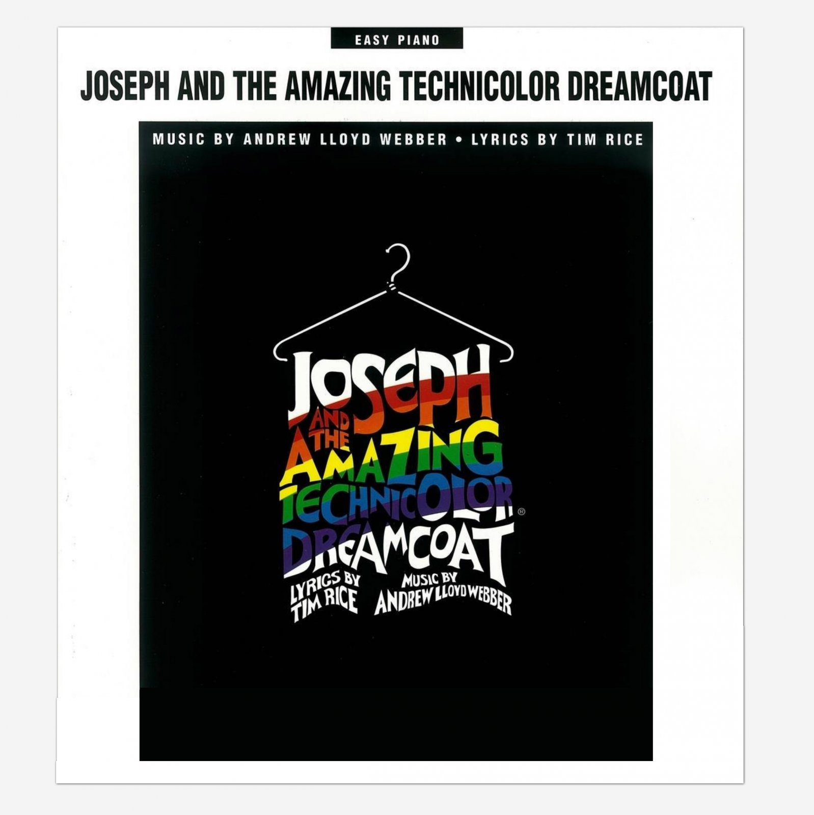 Joseph and the Amazing Technicolor Dreamcoat (Easy Piano)