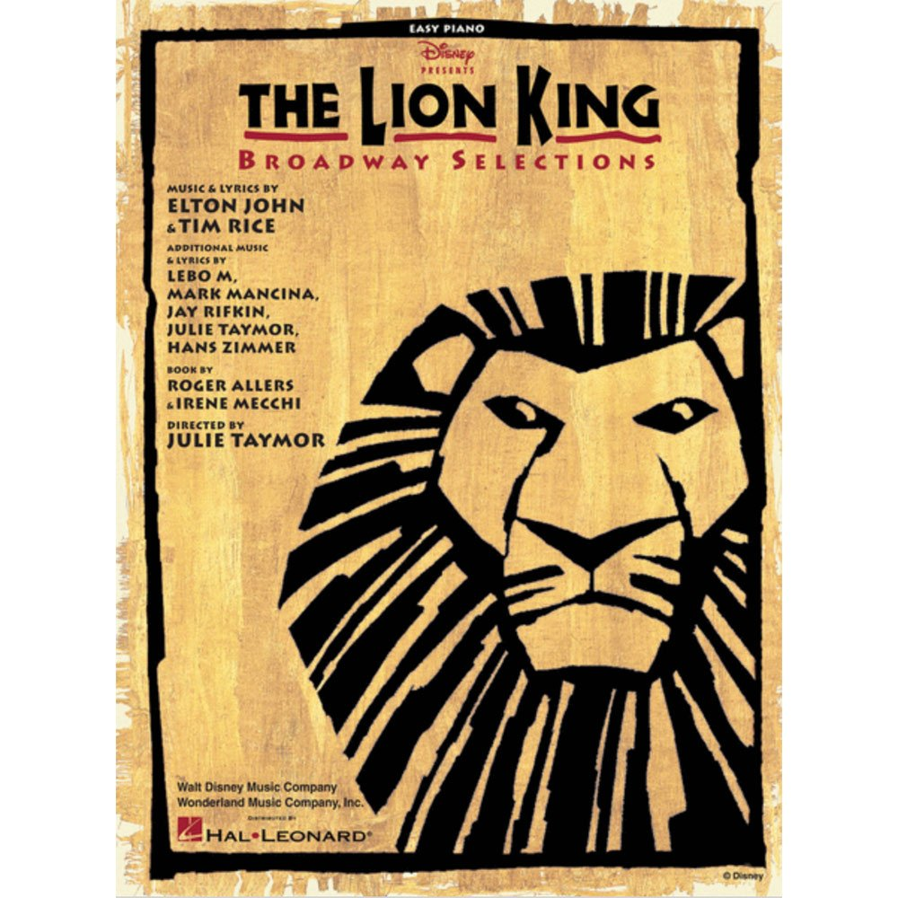 The Lion King: Broadway Selections (Easy Piano)