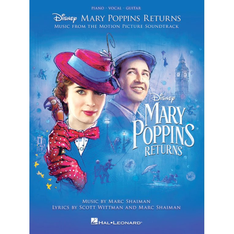 Mary Poppins Returns, Vocal Selections