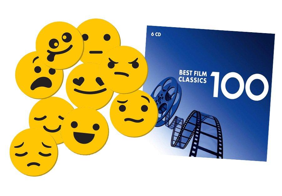 Music-Go-Rounds Emojis & Best Film Classics 6-CD Set