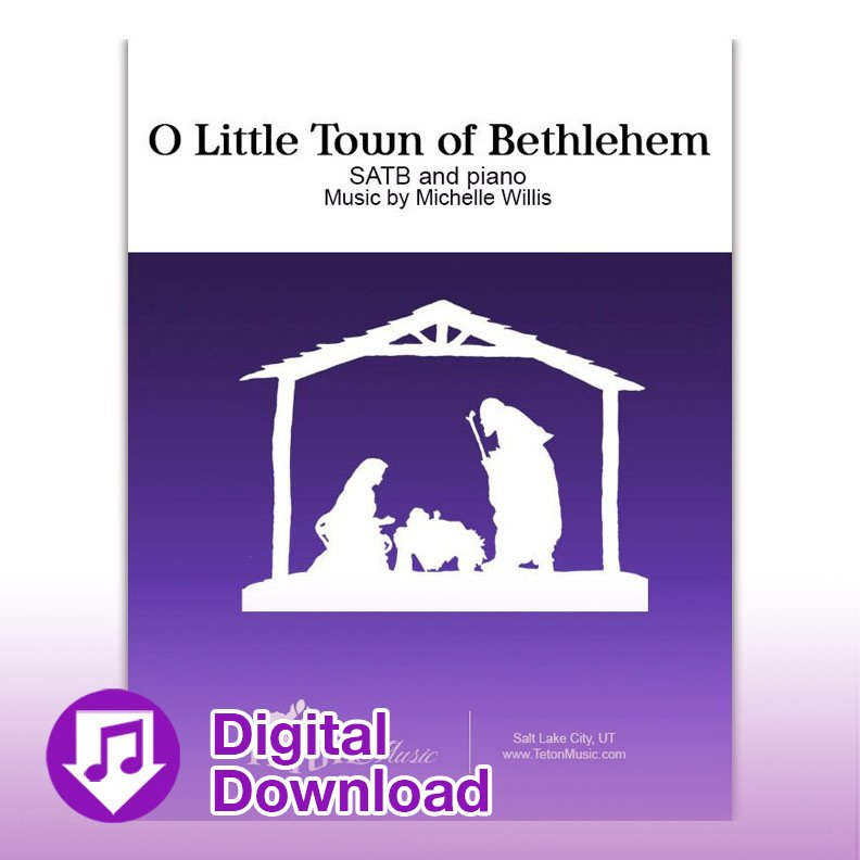 O Little Town of Bethlehem (SATB)