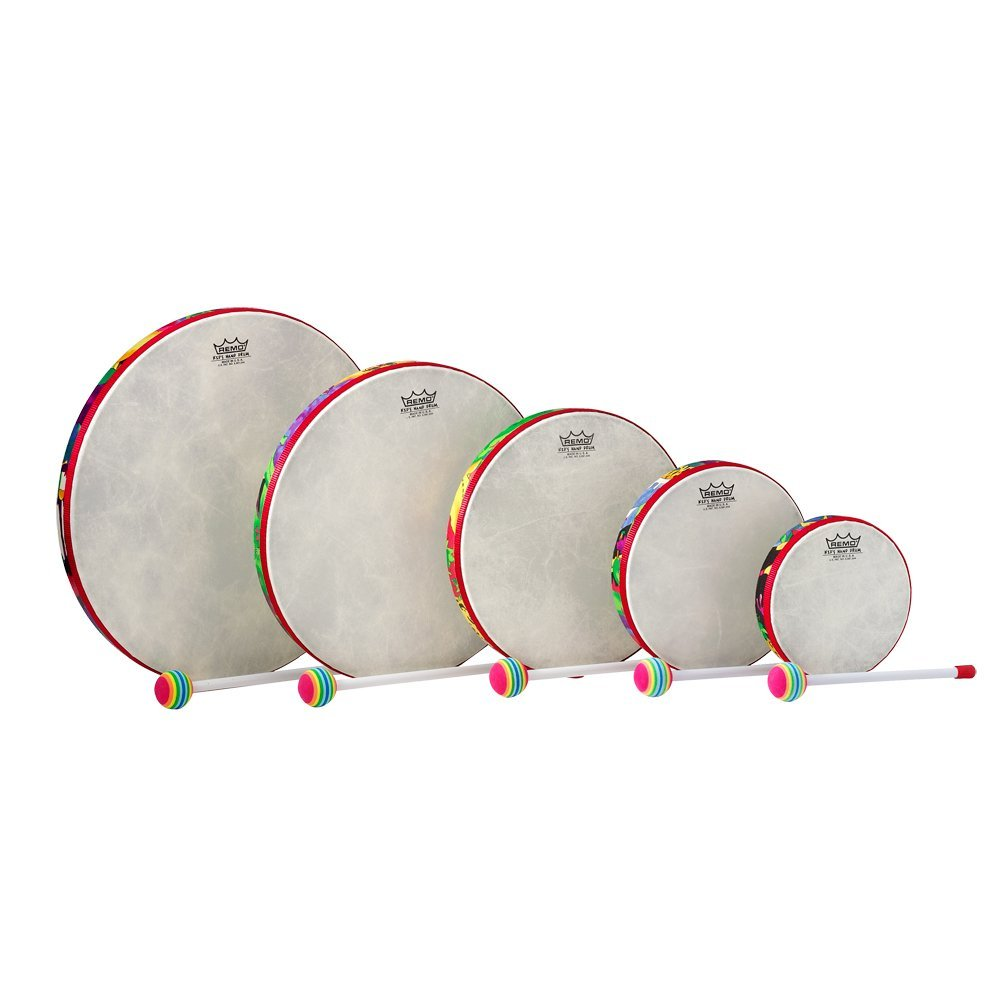 Remo Kids Hand Drum (Set of 5)