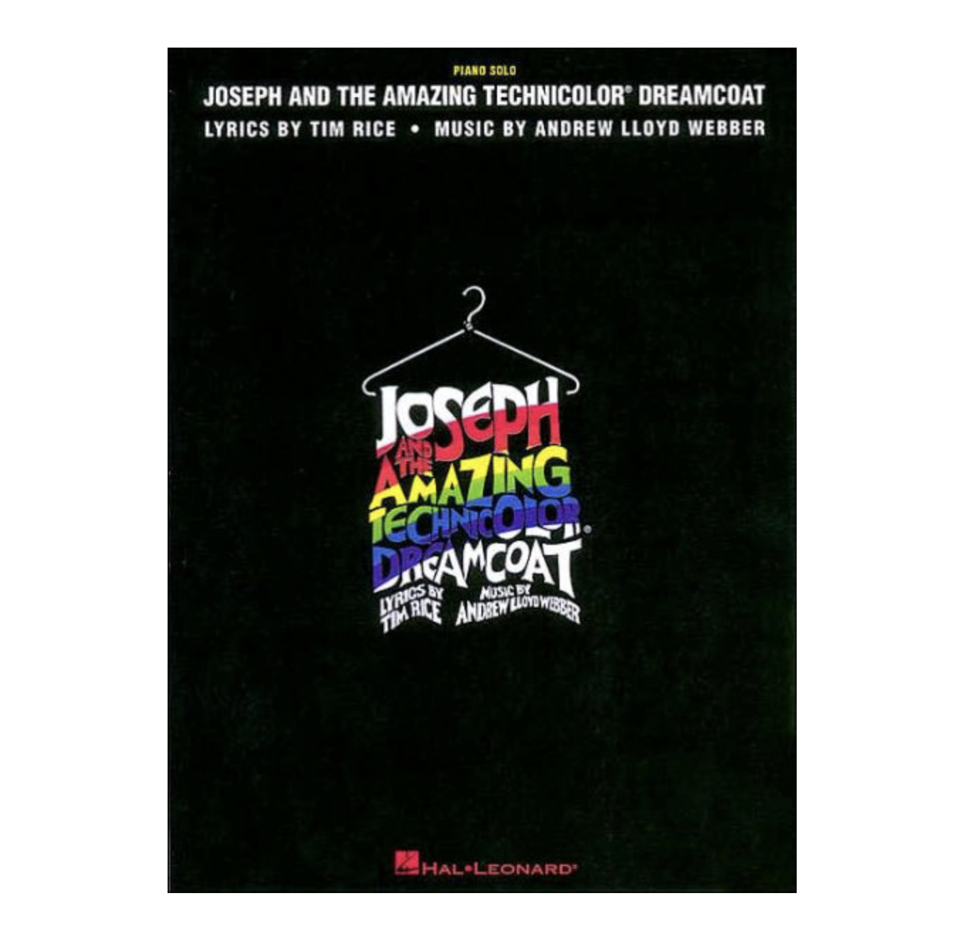 Joseph and the Amazing Technicolor Dreamcoat (Piano Solo)