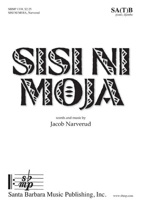 Sisi Ni Moja (SAB/SATB)