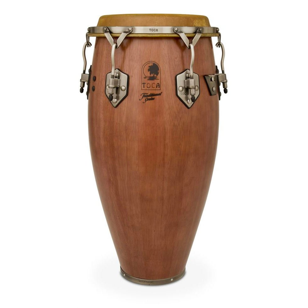 Toca Traditional Series Conga - Dark Walnut