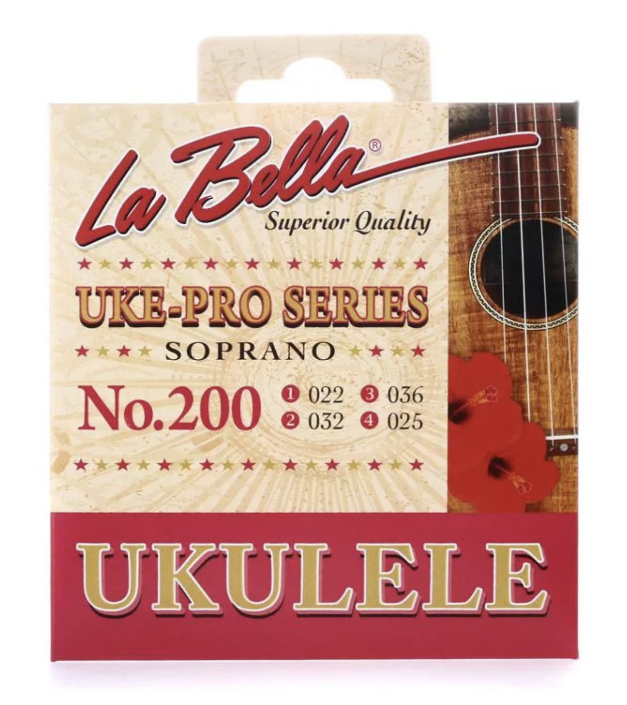 La Bella Soprano Ukulele Strings