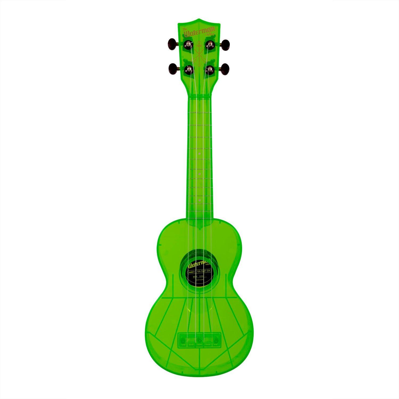 Waterman Soprano Flourescent Green Ukulele