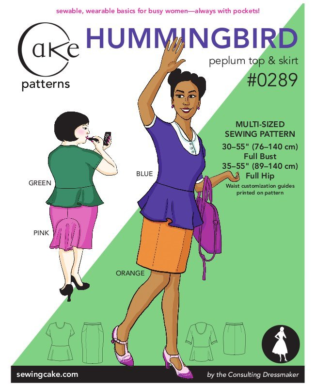Hummingbird : Woven Skirt & Knit Top