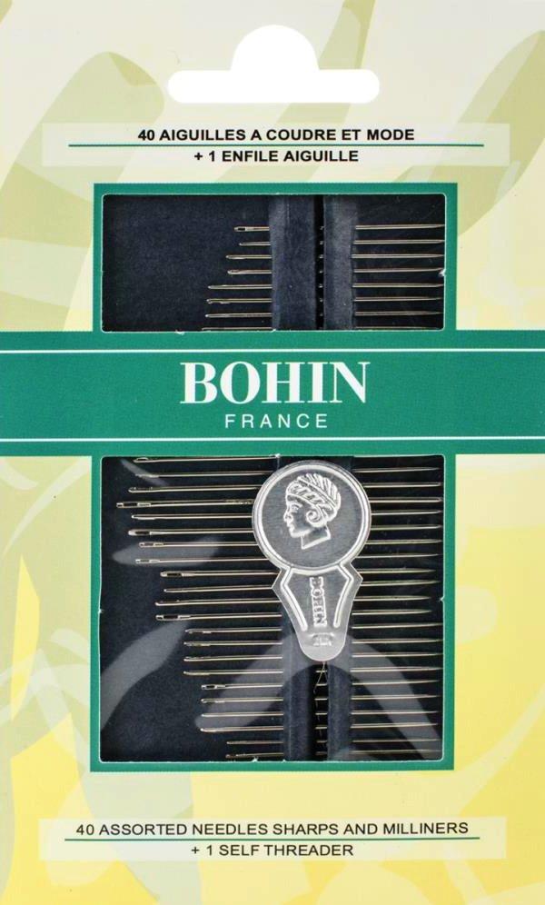 Needles : Bohin Sharps &  Milliners