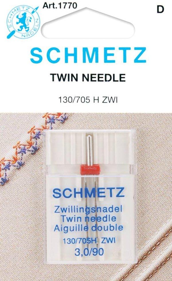 Machine Needles : Universal Twin - 3.0