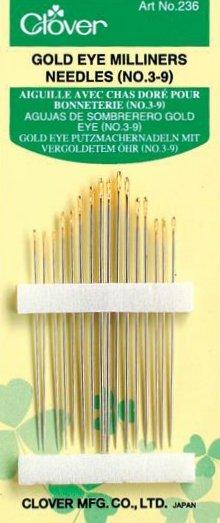 Needles : Clover Milliners - 3/9