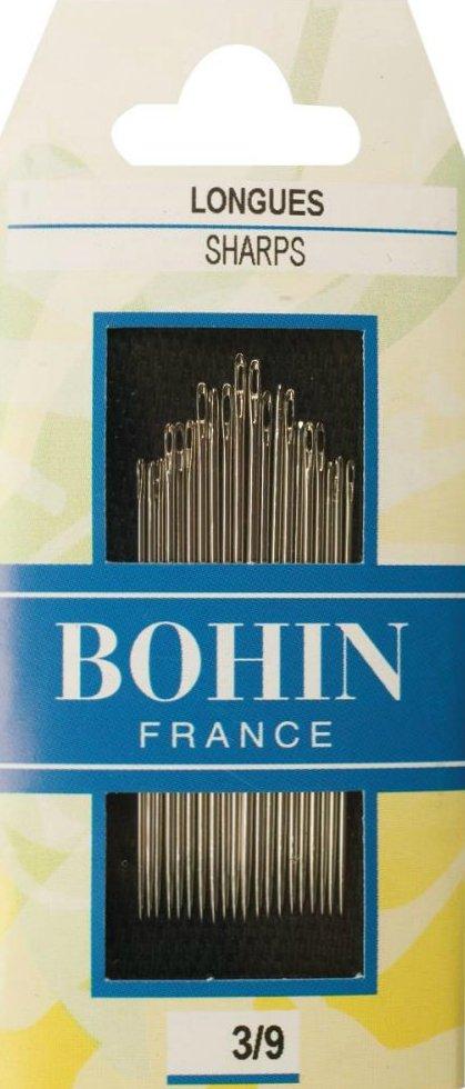 Needles : Bohin Sharps - 3/9