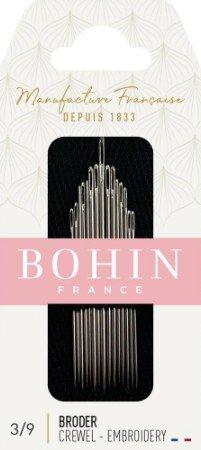 Handsewing Needles : Bohin Crewel Embroidery - 3/9