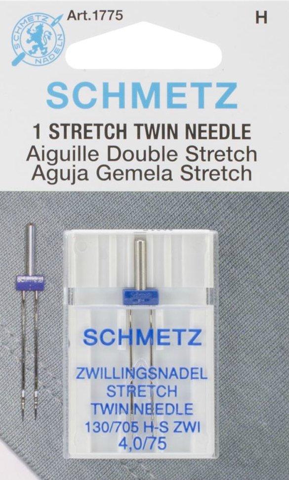 Machine Needles : Stretch Twin - 4.0