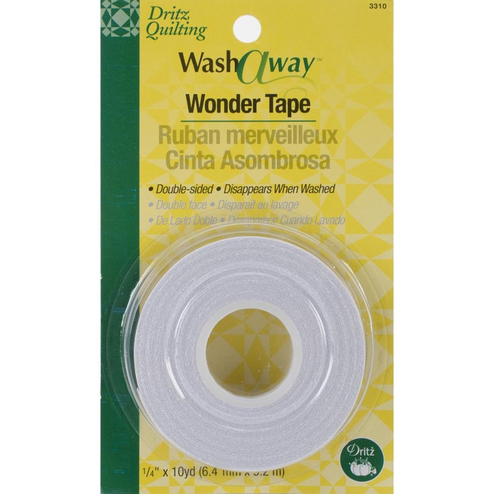 Wonder Tape : Wash Away - 1/4 x 10yds pkg