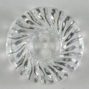 Button : Transparent Etched - 14mm