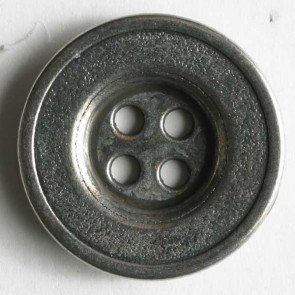 Button : Framed Metal 4 Hole - 12mm