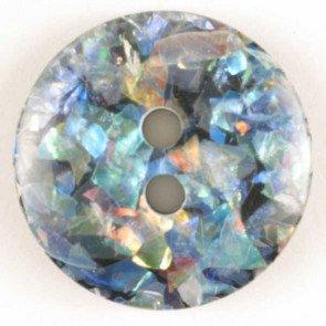 Button : Disco 2 Hole - 11mm