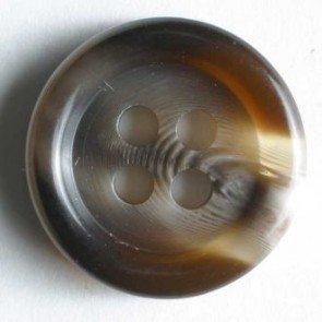 Button : Shirt Framed 4 Hole - 15mm