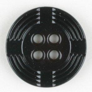Button : Cross Circle 4 Hole - 13mm
