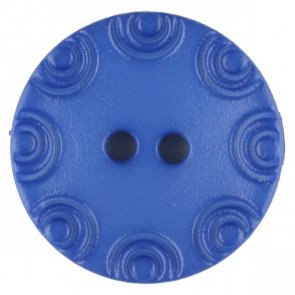 Button : Etched Flower 2 Hole - 13mm