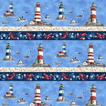 QC : Atlantic Shore - Lighthouse Stripe