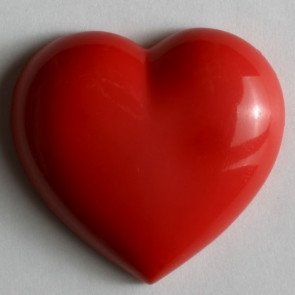 Novelty Button : Heart Shank