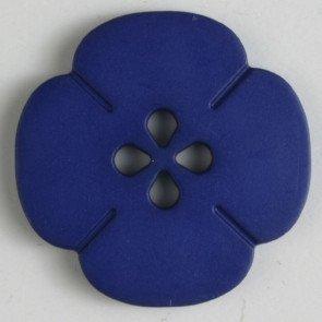 Button : Flower Cut Out 4 Hole - 20mm