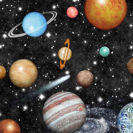 QC : Intergalactic - Planets (Black)