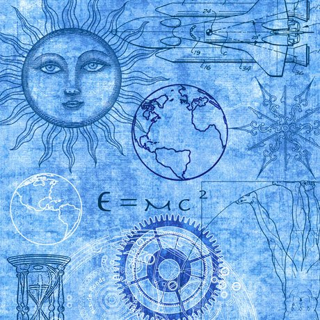QC : Intergalactic - Space Time (Blue)