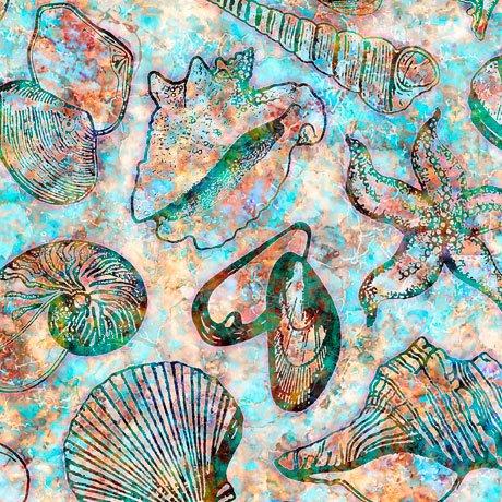 QC : Oceana - Seashells (Multi)