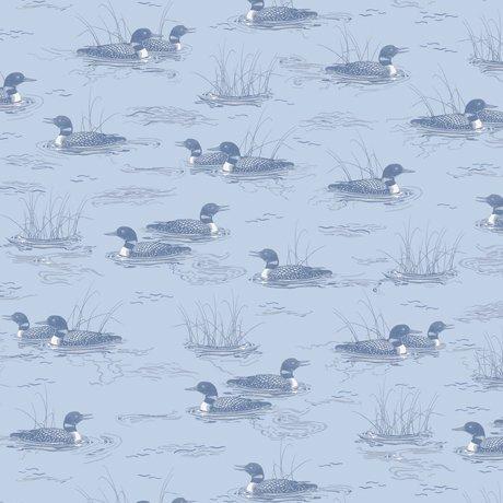 QC : Loons - Loon Tonal (Dusty Blue)