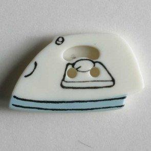 Novelty Button : Iron - 25mm
