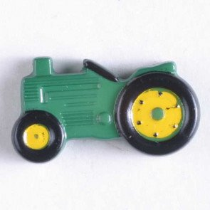 Novelty Button : Tractor - 25mm