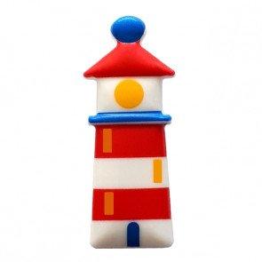 Novelty Button : Lighthouse - 30mm