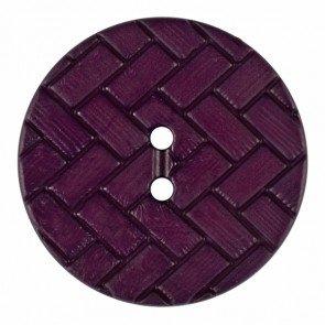 Button : Braid Pattern - 28mm