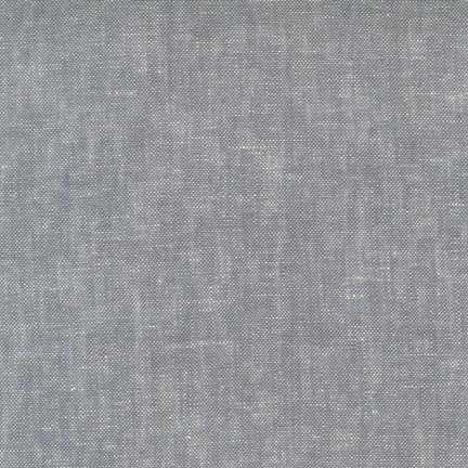 Brussels Washer : Linen/Rayon - Yarn Dyed Grey