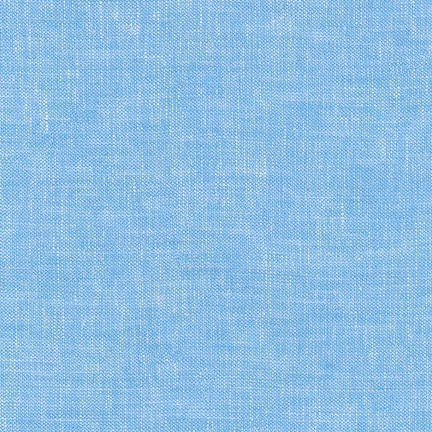 Brussels Washer : Linen/Rayon - Yarn Dyed Blue Jay