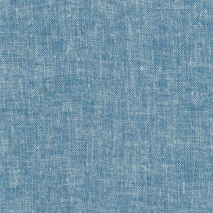 Brussels Washer : Linen/Rayon - Yarn Dyed Rain