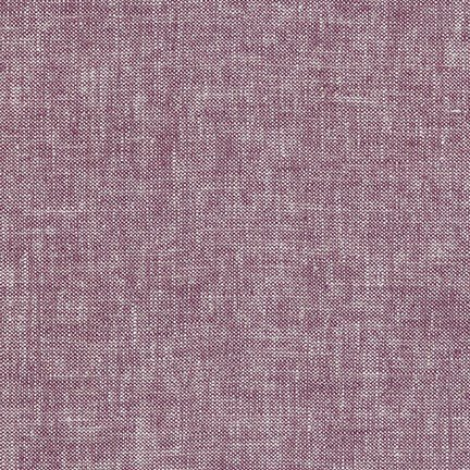 Brussels Washer : Linen/Rayon - Yarn Dyed Heliotrope