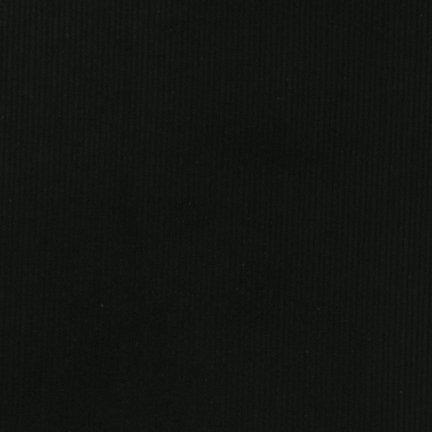 Corduroy : 14 Wale - Black