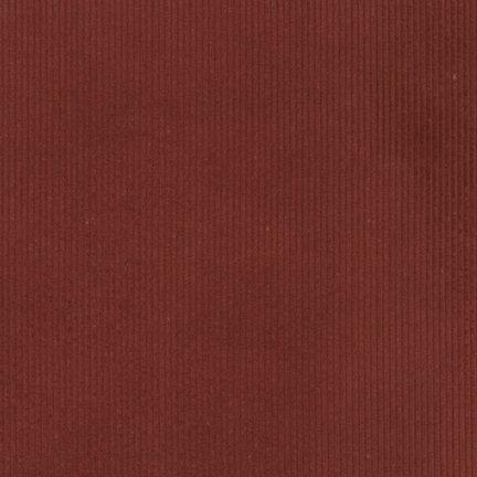 Corduroy : 14 Wale - Rust