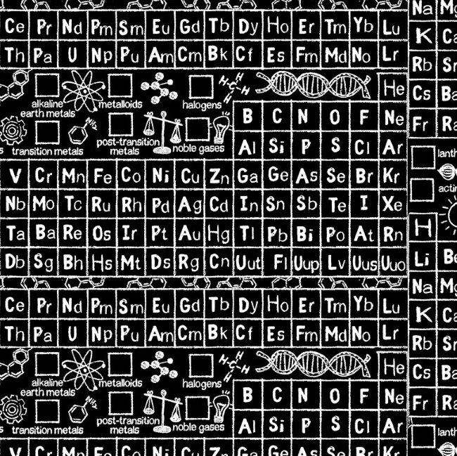 QC : Periodic Table (Black)
