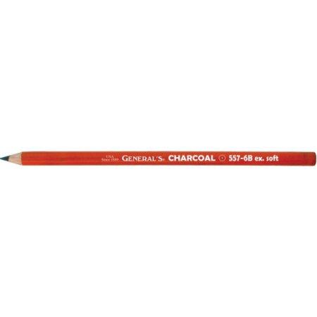 Drawing Pencil 6B 2pk - Soft Black