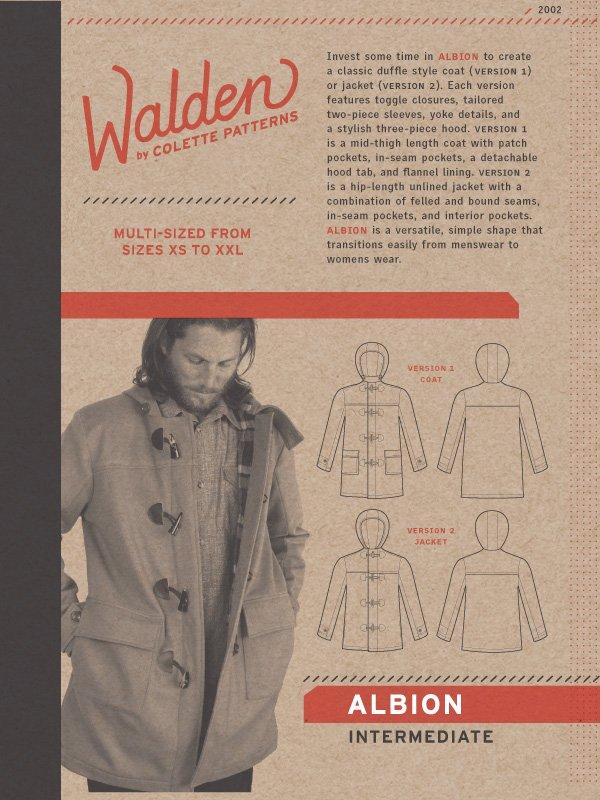 Albion Coat Pattern