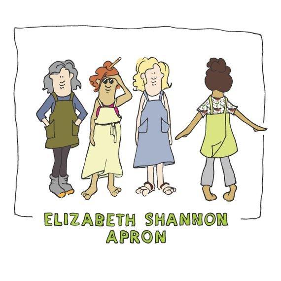 Elizabeth Shannon Apron Pattern