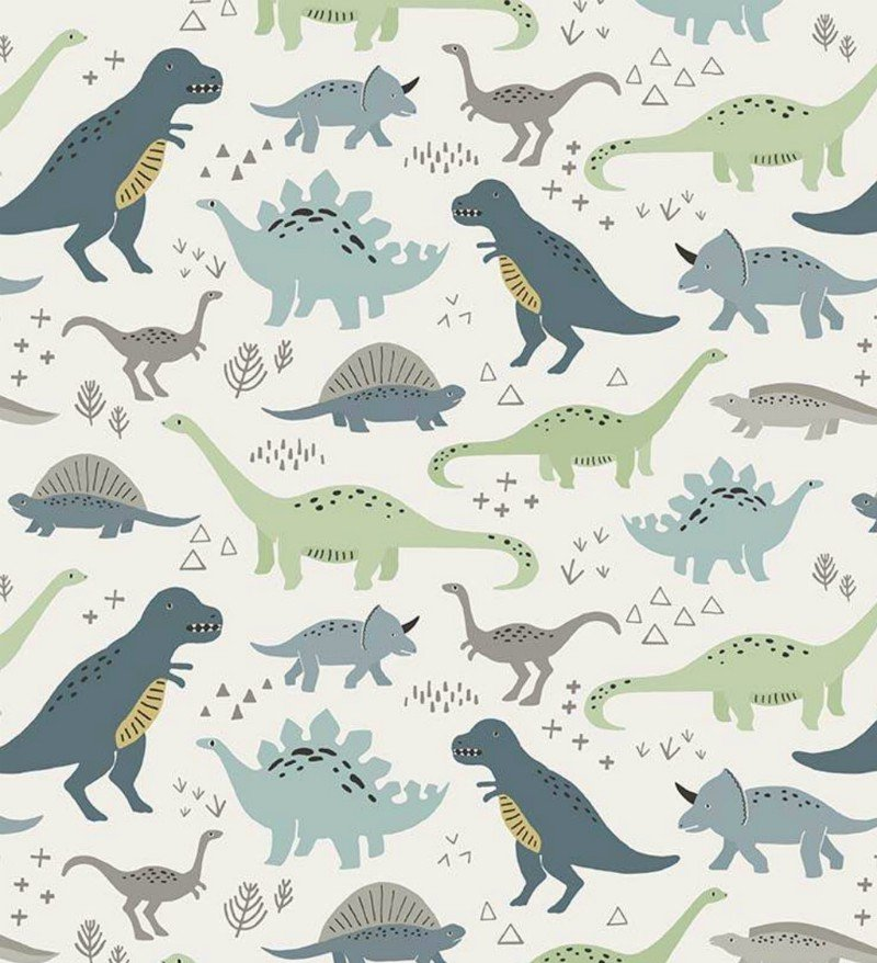 Flannel Prints : Fossil Rim - Main (Cream)