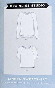 Linden Sweatshirt KNITS Pattern