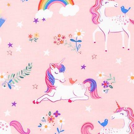 QC : Happy Little Unicorns 17163 - Pink