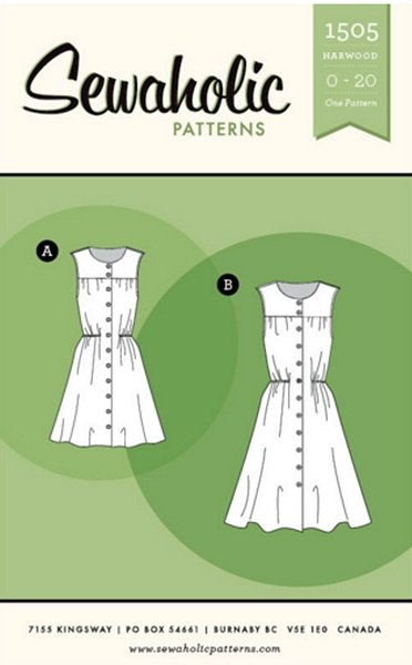 Harwood Dress Pattern